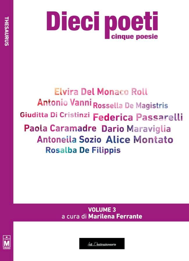 """""""Dieci poeti cinque poesie"""""""