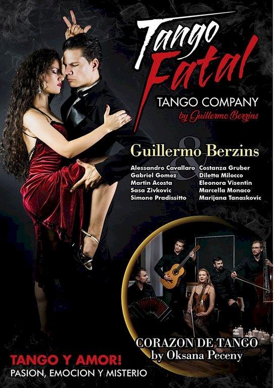 """""""Tango Fatal-Tango y Amor"""", al Teatro Augusteo di Napoli arriva la malìa del tango argentino"""