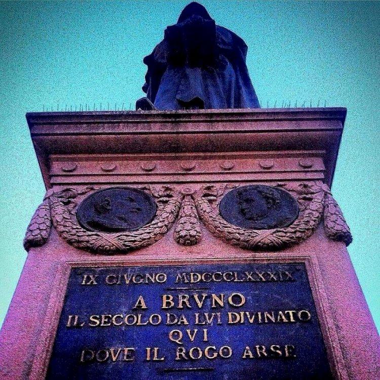 GIORDANO BRUNO, maestro del libero pensiero
