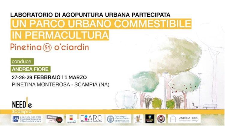 A Scampia un laboratorio di rigenerazione della Pinetina Monterosa