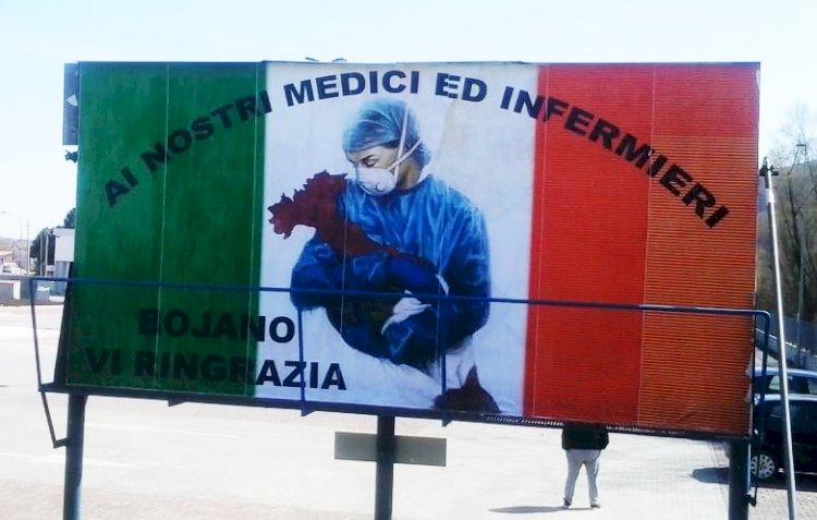 Un grazie da Bojano a Medici e Infermieri