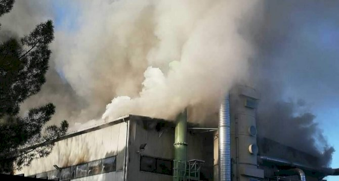 Incendio a Terni