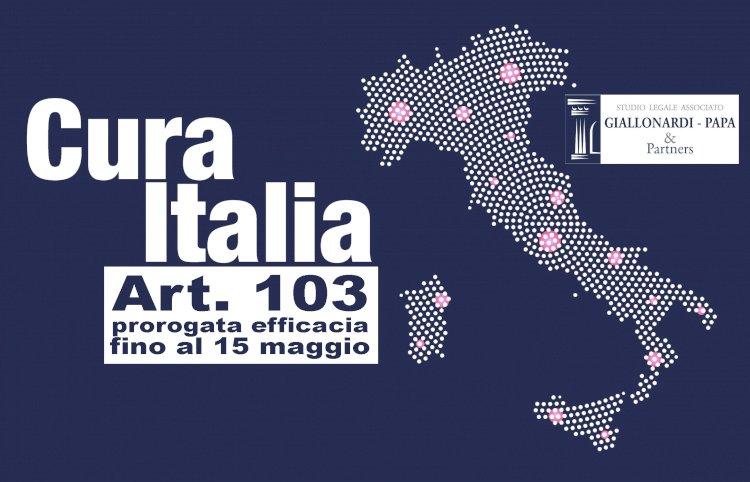 CURA ITALIA, proroga fino al 15 maggio