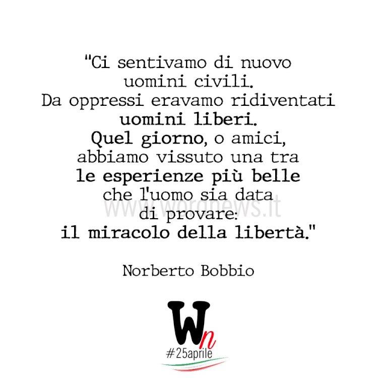 Il miracolo della libertà