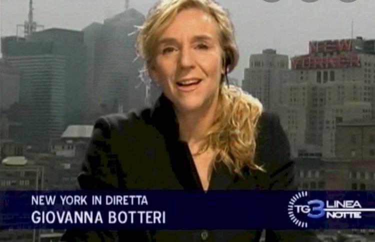 Con Giovanna Botteri