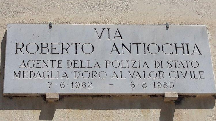 Terni omaggia Roberto Antiochia