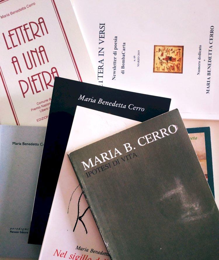 Ritratti/MARIA BENEDETTA CERRO, LA POESIA TRA I ROVI