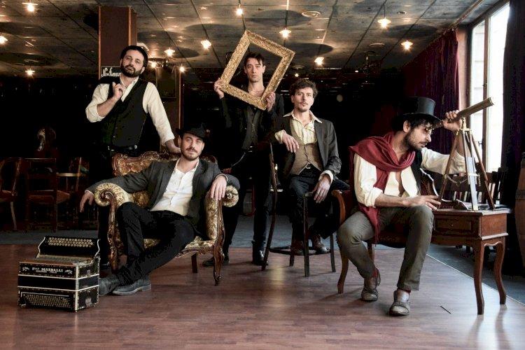 «Balkanika», il nuovo singolo del quintetto strumentale Guappecartò