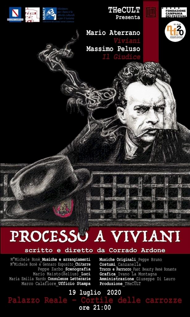 «Processo a Viviani», debutto nazionale a Napoli