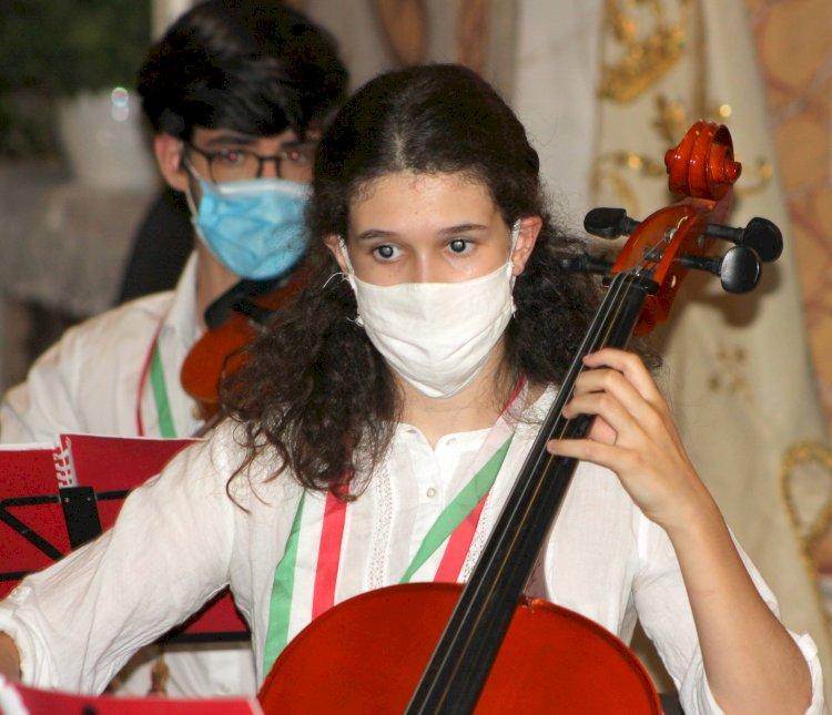 STRAGE via d'Amelio: il concerto dell'Orchestra «Falcone e Borsellino»
