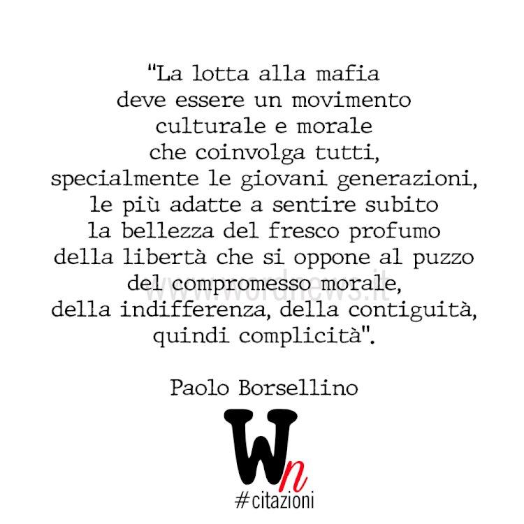 Paolo Borsellino è VIVO