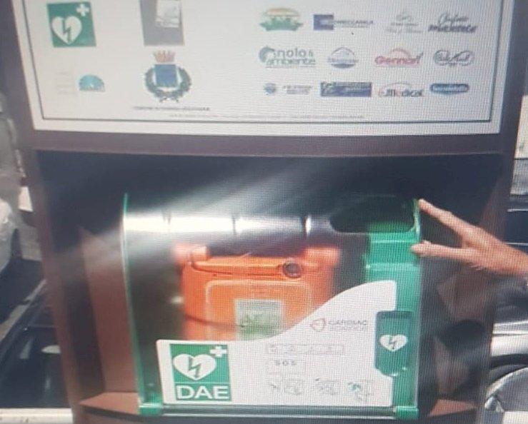Somma Vesuviana: dov'è finito il defibrillatore?