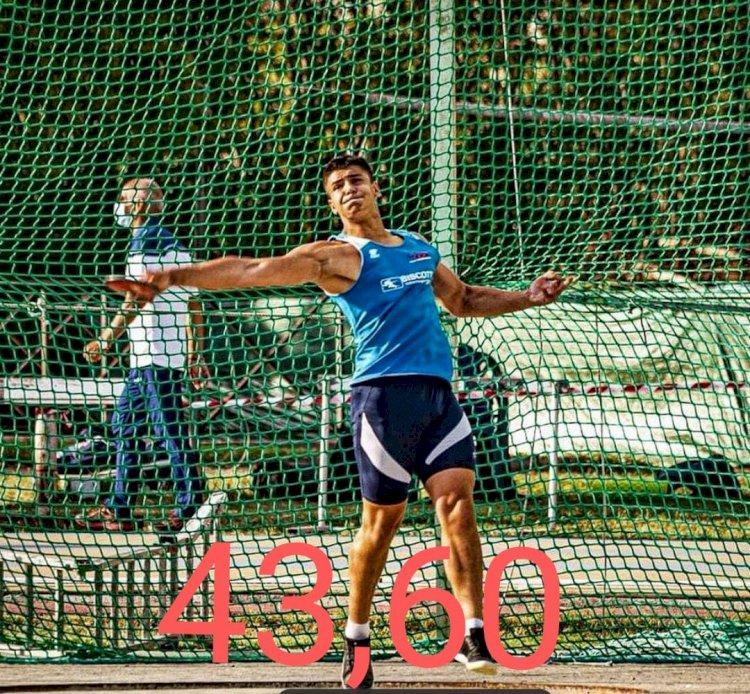 Quando l'allenamento ti fa superare i limiti:  Antonio Ciallella e i suoi 43,60 m