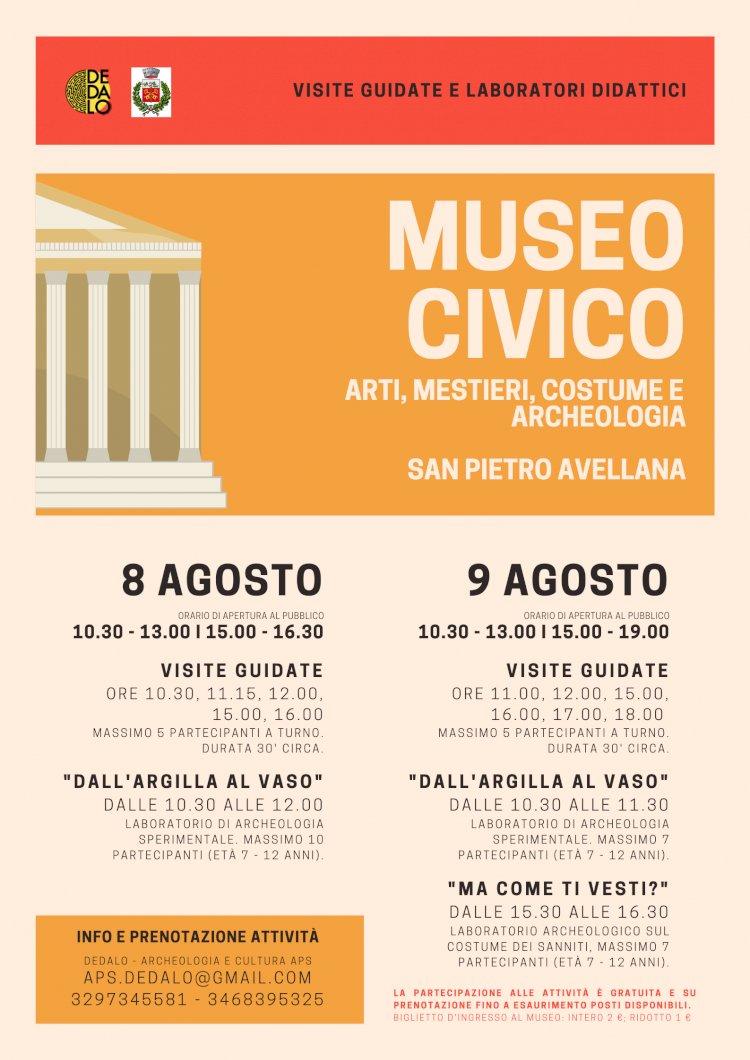 Visite guidate e laboratori archeologici per bambini al Museo di San Pietro Avellana