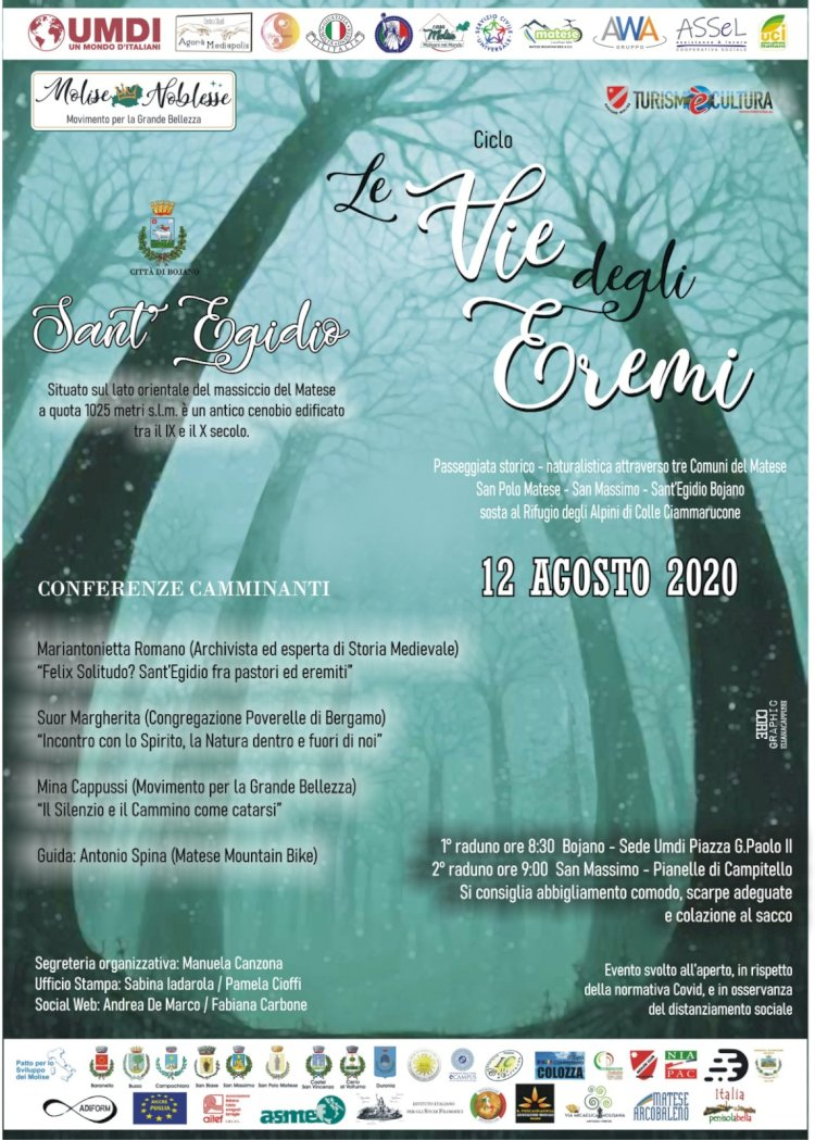 """A Sant'Egidio con """"Le Vie degli Eremi"""""""