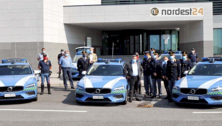 Polizia Stradale: ecco le Volvo V60