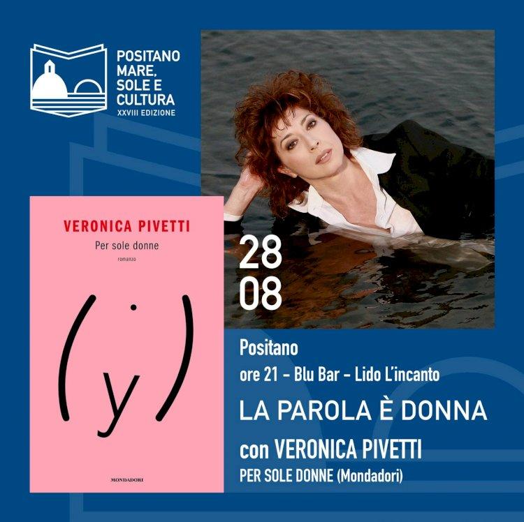 Veronica Pivetti inaugura la XXVIII edizione di «Positano 2020 Mare, Sole e Cultura»