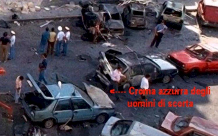 Apparati dello Stato in via D'Amelio per attendere la strage e rubare l'Agenda Rossa