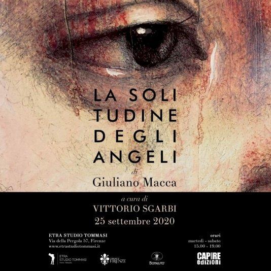 «La solitudine degli angeli», a Firenze la mostra di Giuliano Macca a cura di Vittorio Sgarbi