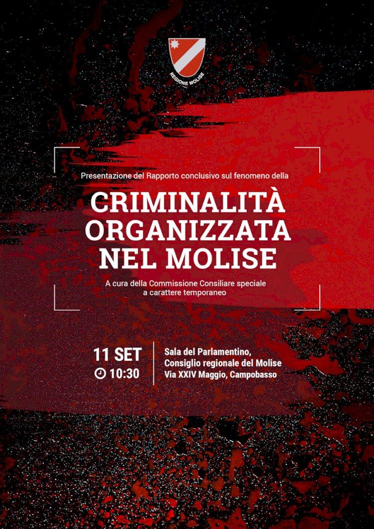 Molise: Rapporto antimafia. Domani la presentazione