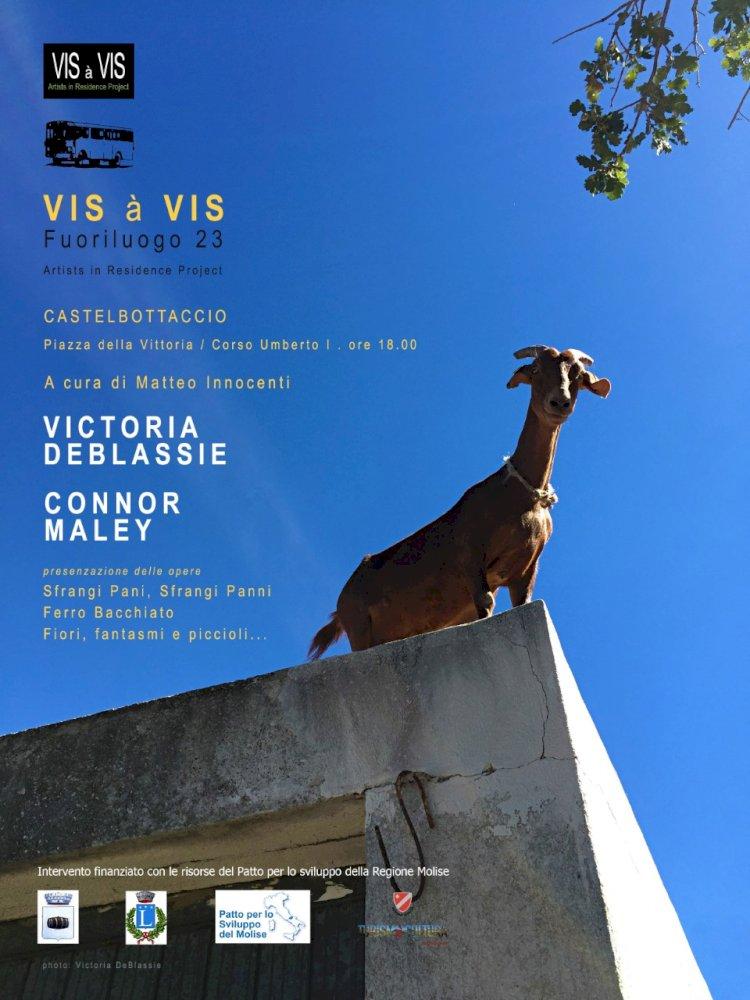«Vis à Vis Fuoriluogo», presentate le opere degli artisti DeBlassie, Maley e  Müller