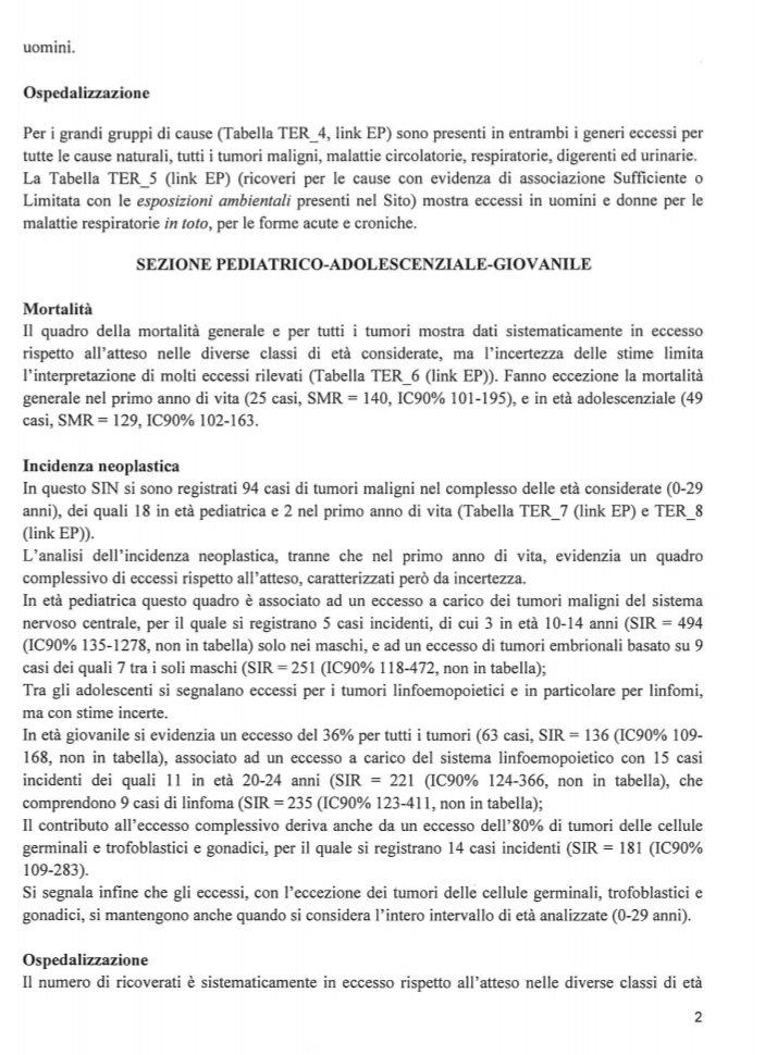 Smantellato il registro tumori in Umbria