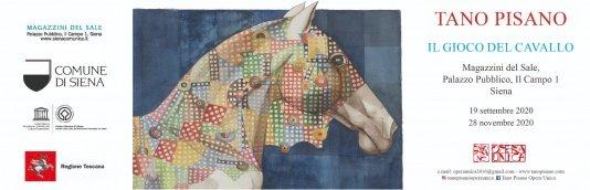 «Il gioco del cavallo» ai Magazzini del Sale. In mostra le opere di Tano Pisano