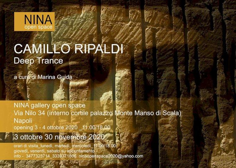 «Deep Trance», in mostra alla NINA Gallery le opere di Camillo Ripaldi