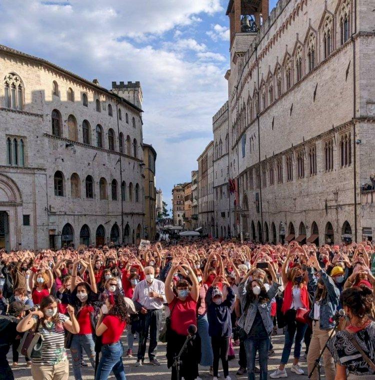 Aborto sicuro: la protesta e le proposte delle donne umbre