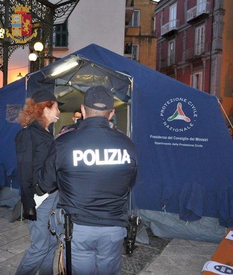 """Polizia di Stato: «controlli continui e serrati alla """"movida»"""