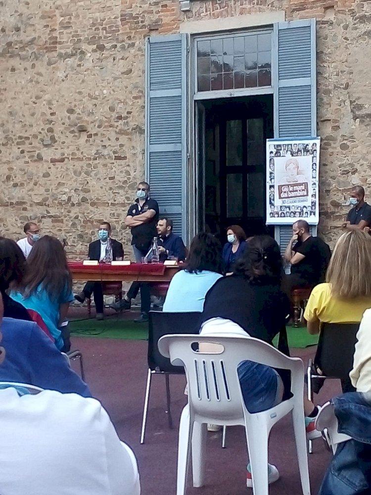 Vimercate, inaugurato il gruppo delle Agende Rosse intitolato al piccolo Claudio Domino
