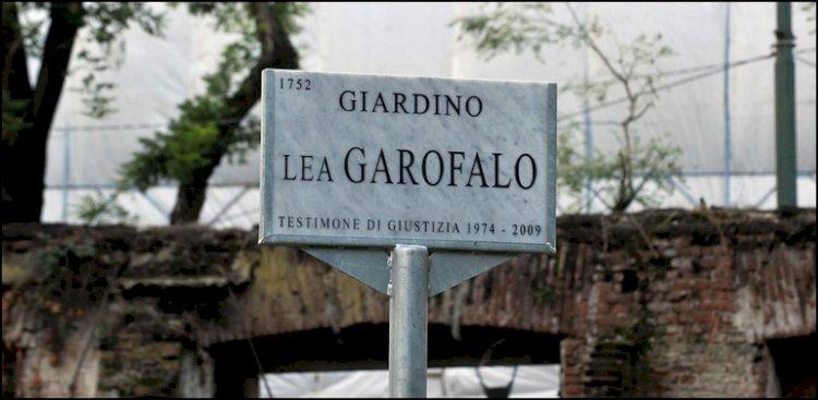 Dedicato a Lea Garofalo il giardino di viale Montello