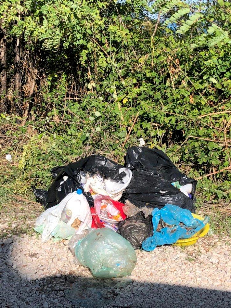 Vasto, Via Salce sempre più discarica: oltre 115 i metri quadrati coperti da rifiuti