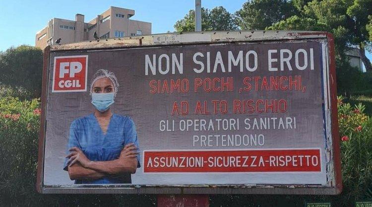 La FP CGIL Abruzzo Molise Polizia Penitenziaria a sostegno degli operatori sanitari