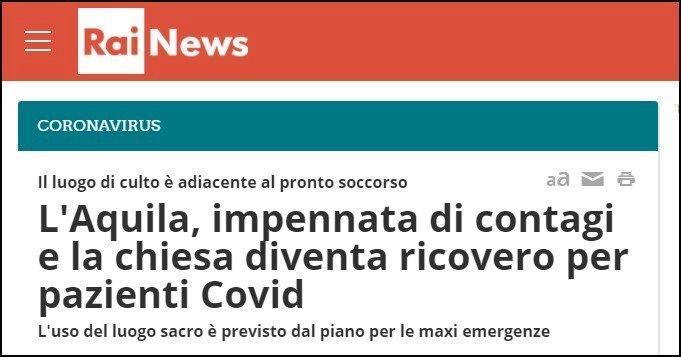 Abruzzo: palcoscenico per scontri di palazzo, tra pandemia ed emergenze continue
