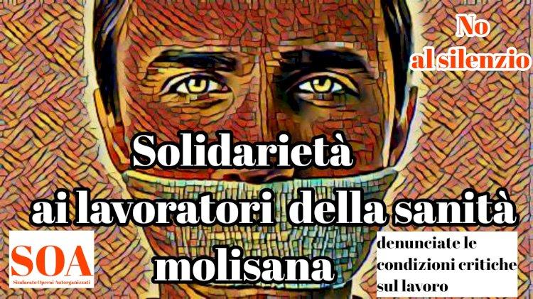 «Solidarietà ai lavoratori della Sanità molisana. Abbiate il coraggio di denunciare»