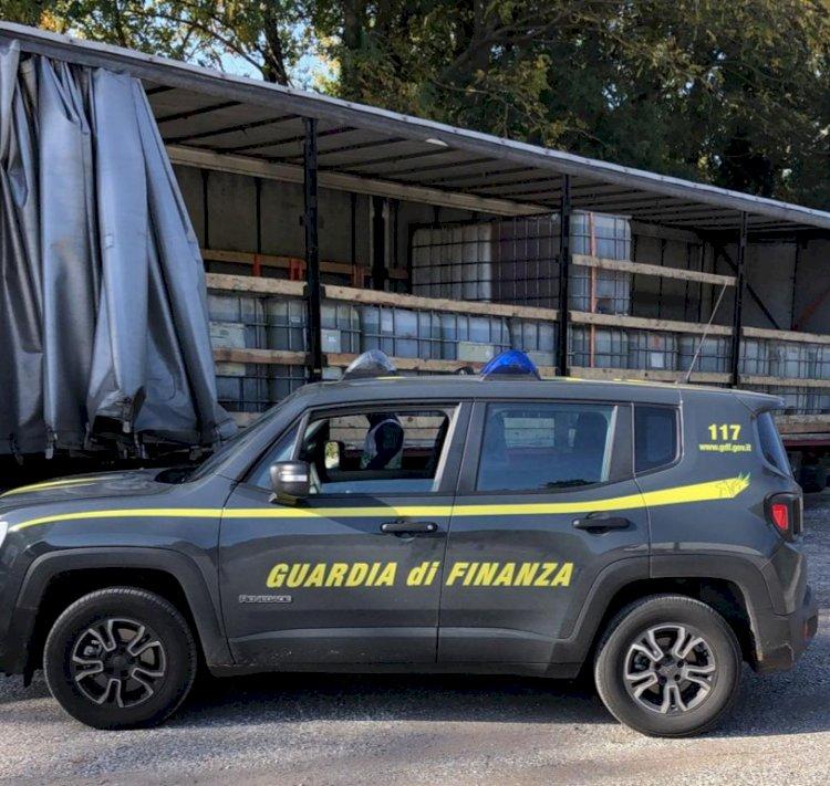 Guardia di Finanza: sequestrate 72 tonnellate di gasolio illegale