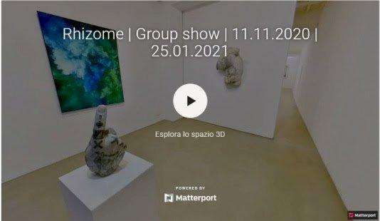 R H I Z O M E. Riapertura e tour virtuale della mostra collettiva