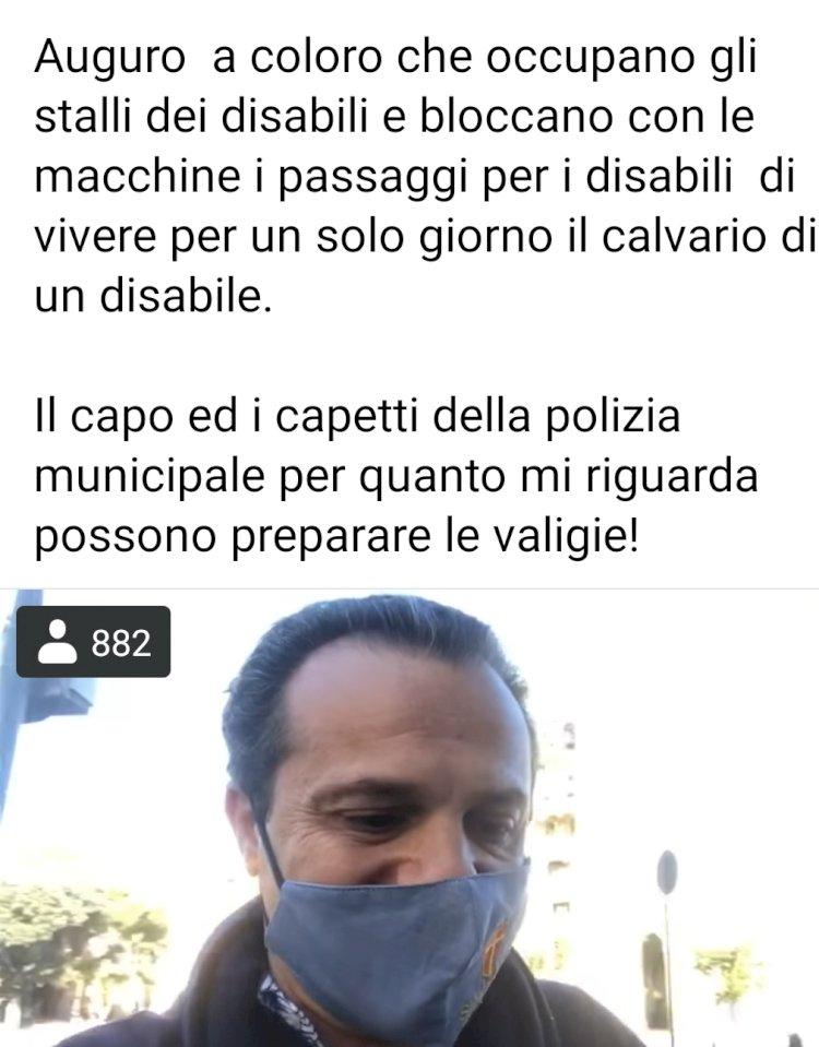 DIRETTA FACEBOOK: il Sindaco di Messina licenza il comandante della polizia locale
