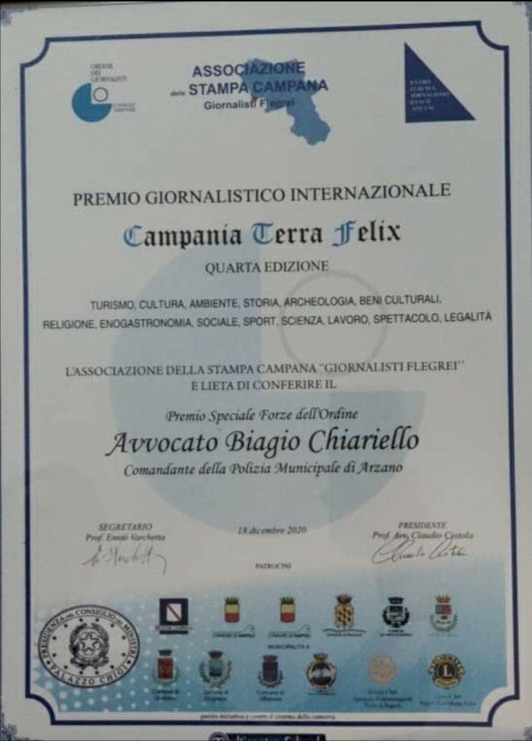 Biagio Chiariello, un Comandante della polizia locale che fa la differenza
