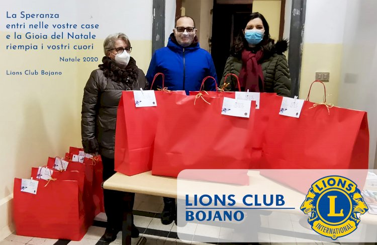 Lions Club Bojano, quando un gesto vale più di mille parole