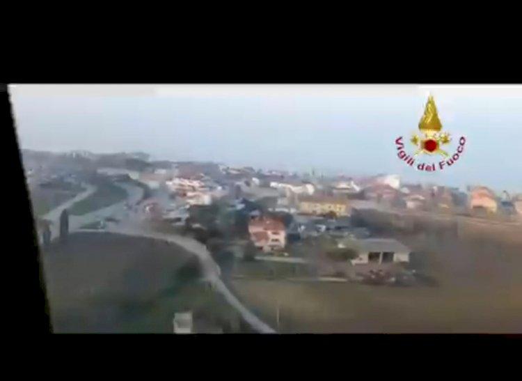 «Situazione drammatica», tre operai morti a Casalbordino dopo esplosione in fabbrica