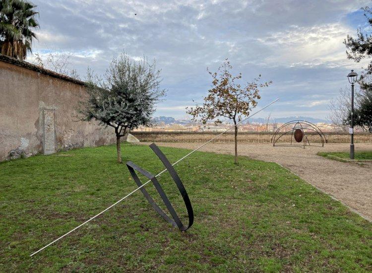 L'arte contemporanea nei giardini dell'Aventino