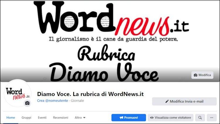 Diamo Voce. La rubrica di WordNews.it