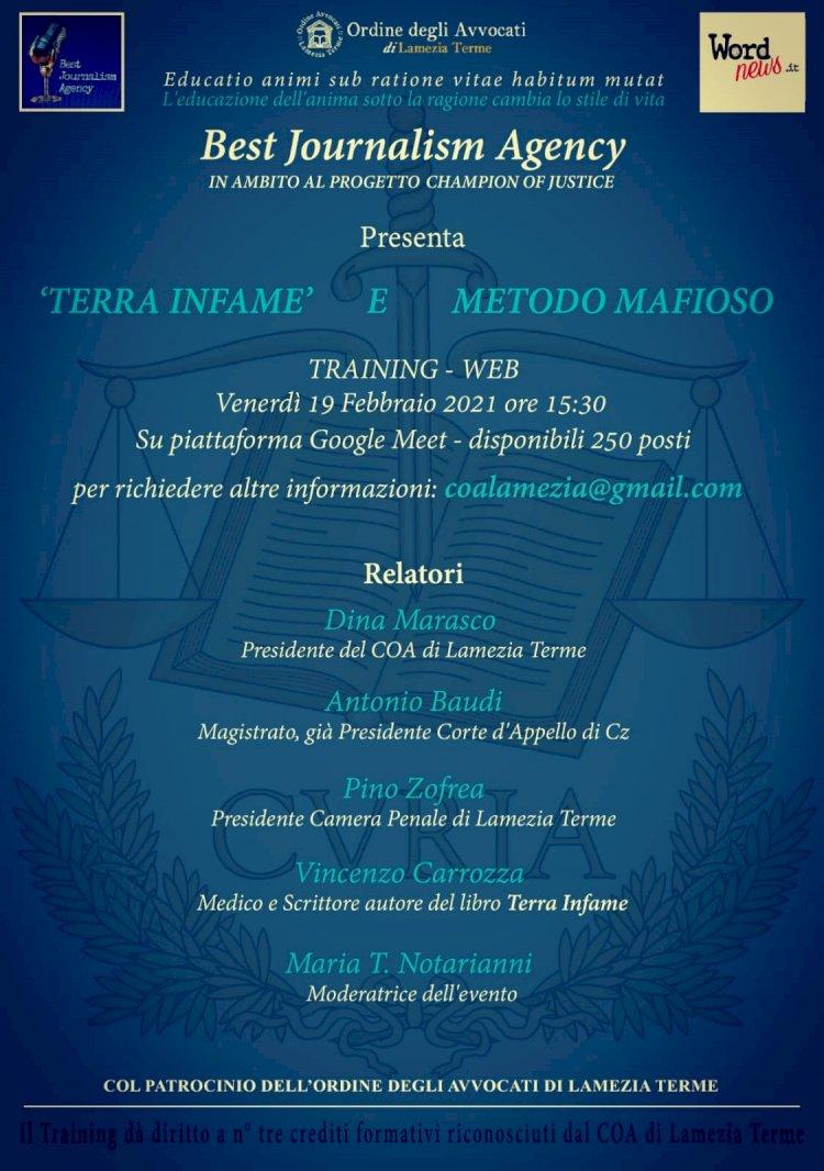 TERRA INFAME: Calabria, Africa, Terra Infame, Natura e Destino Umano