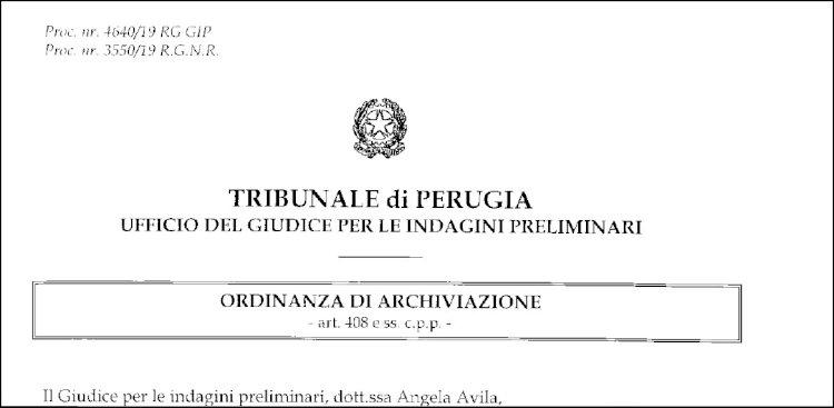 C'è un giudice a Perugia: il nostro collaboratore non ha diffamato nessuno