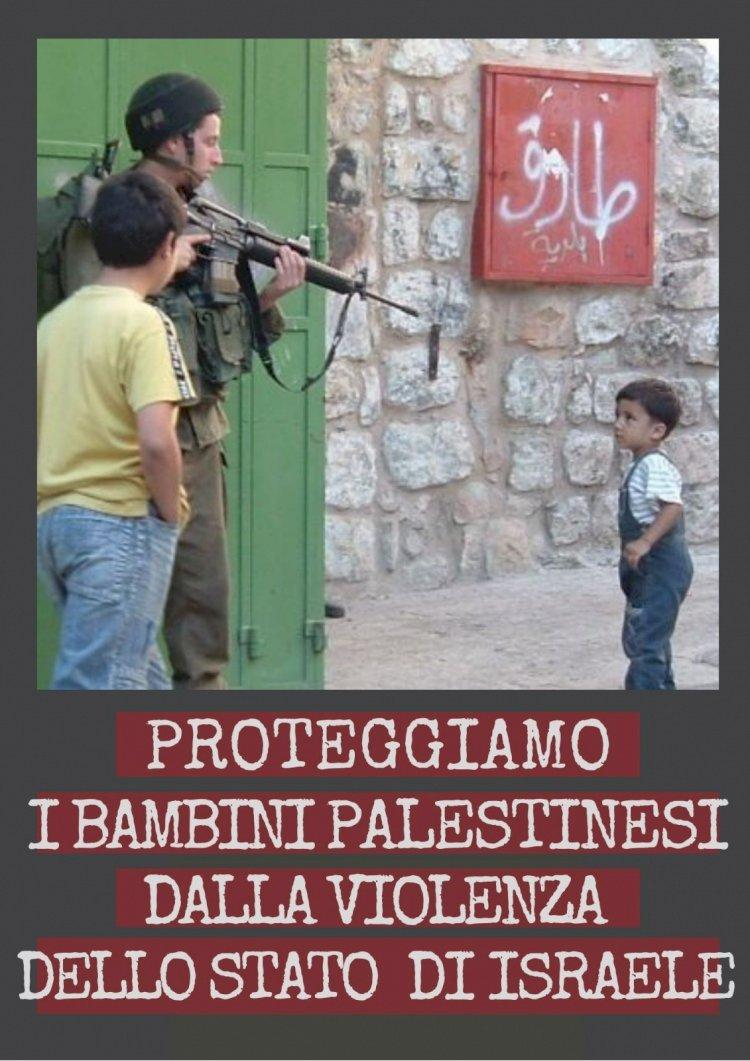 Un appello per l'infanzia calpestata in Palestina