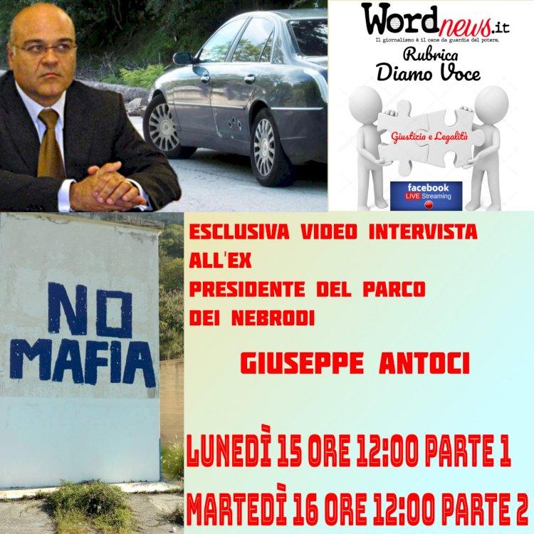 VIDEOINTERVISTA. Parla il presidente Giuseppe Antoci: «Bisogna sempre denunciare»