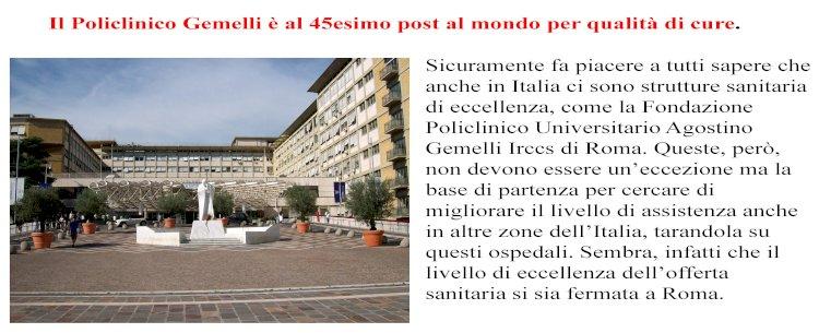 Best Hospital del mondo 2021: figurano sette ospedali italiani tra i primi cento