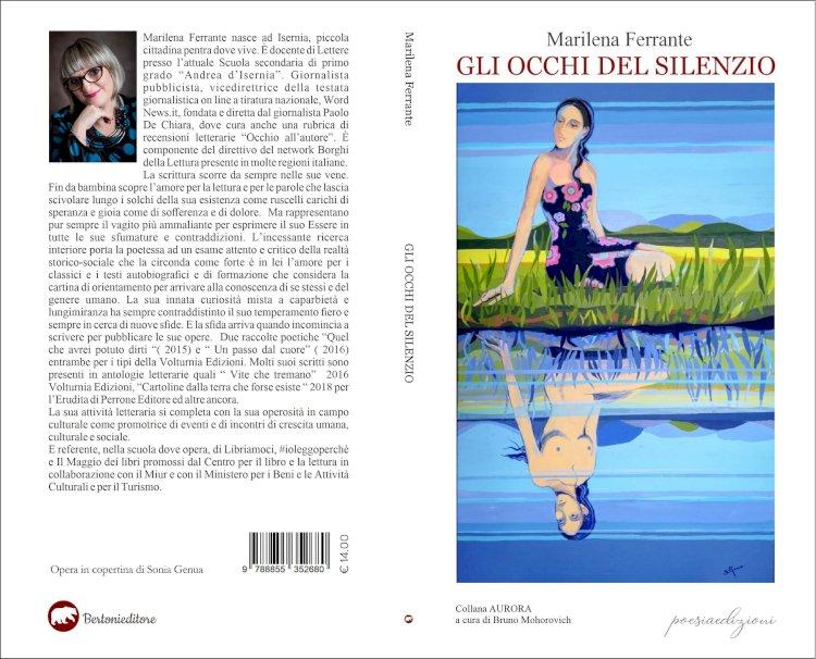 """""""Gli occhi del silenzio"""". La nuova silloge poetica di Marilena Ferrante"""